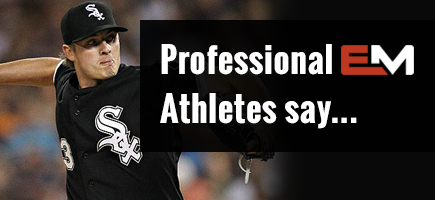 Professional Athletes Say...